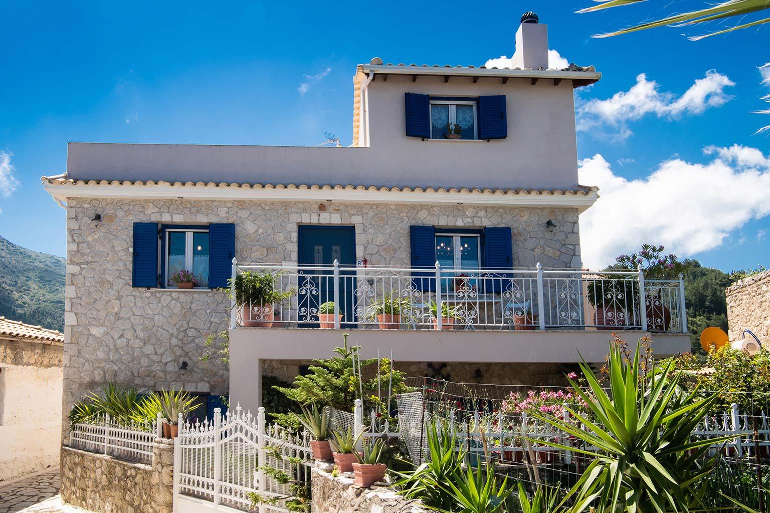 lefkada accommodation house rental 1