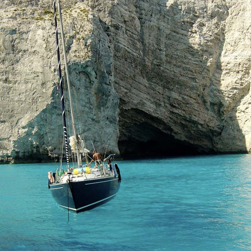 lefkada sailing