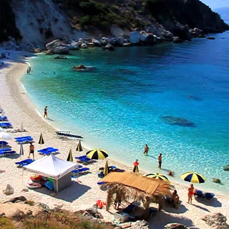 lefkada accommodation agiofili beach