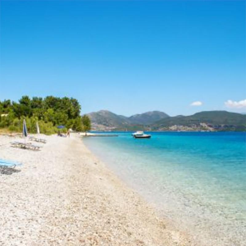lefkada accommodation nikiana beach