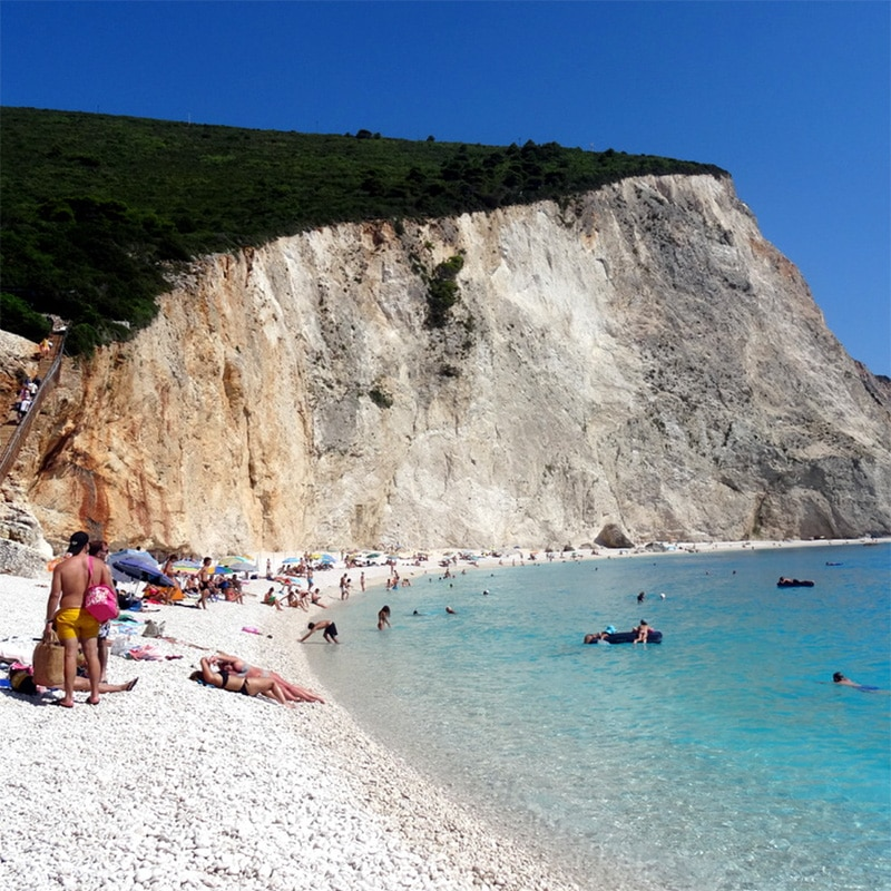 lefkada accommodation porto katsiki beach